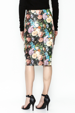 Jealous Tomato Faux Leather Skirt - Alternate List Image