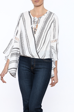 Shoptiques Product: Faux Wrap Top