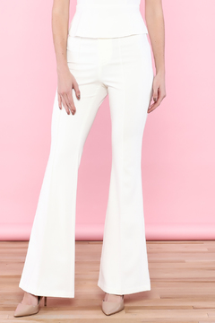 Shoptiques Product: White Flared Pants