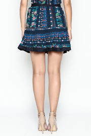 Jealous Tomato Floral Print Skirt - Back cropped