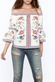 Jealous Tomato Floral Boho Top - Product Mini Image