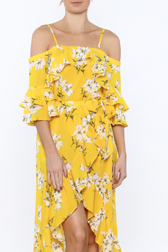 Shoptiques Product: Bright Yellow Floral Top