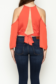Jealous Tomato Front Tie Top - Back cropped