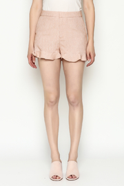 Jealous Tomato Ruffled Shorts - Front full body