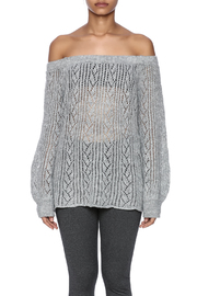 Jealous Tomato Off Shoulder Sweater - Side cropped