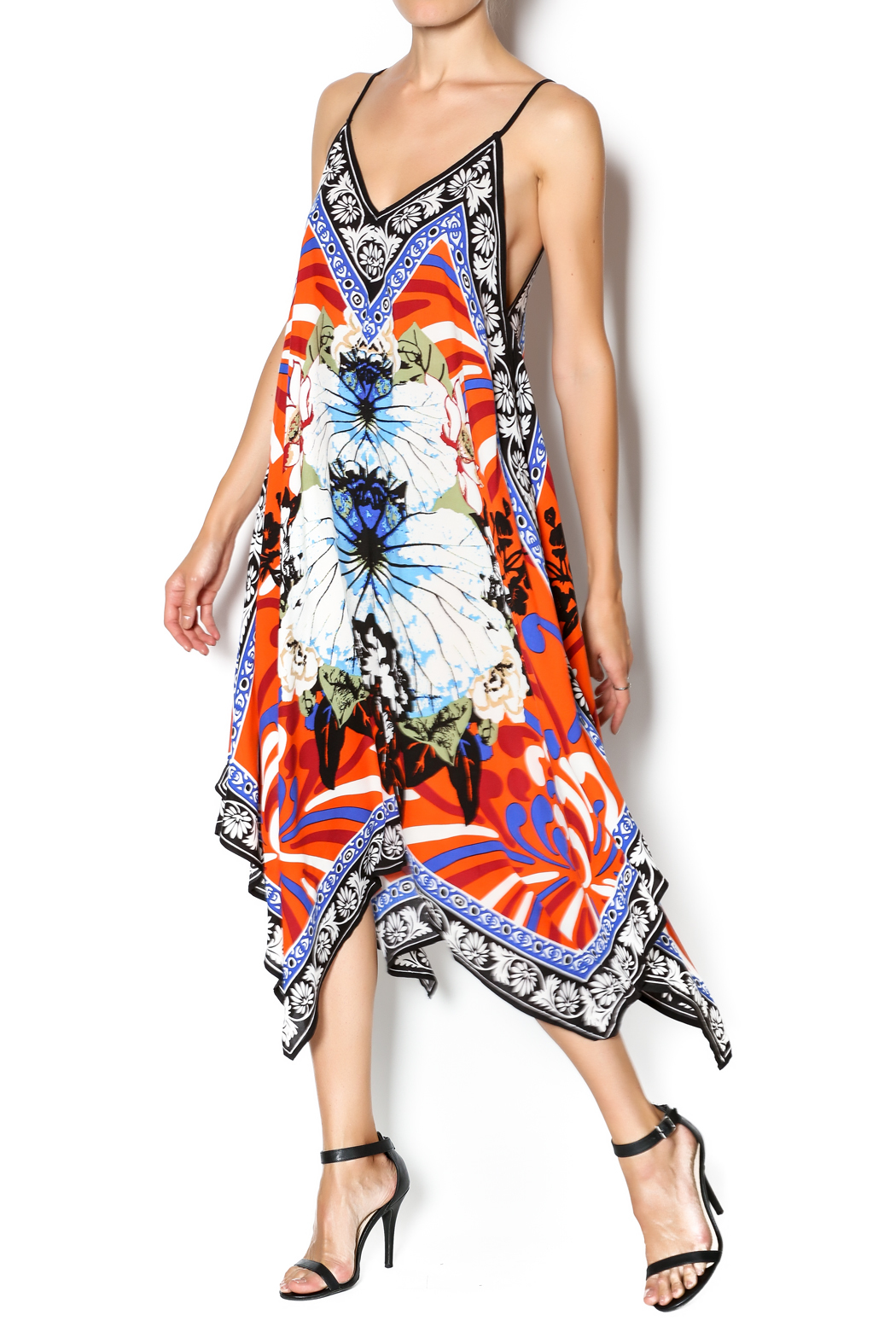 Jealous Tomato Scarf Printed Dress From Manhattan By Dor L