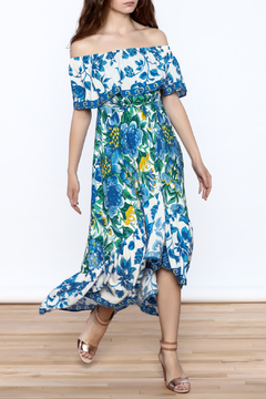 Shoptiques Product: Printed Midi Dress