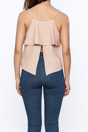 Jealous Tomato Ruffled Top - Back cropped