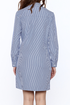 Shoptiques Product: Stripe Button-down Dress