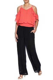Jealous Tomato Tomato Ruffle Top - Front full body