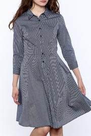 Jealous Tomato Weekend Stripe Shirtdress - Product Mini Image