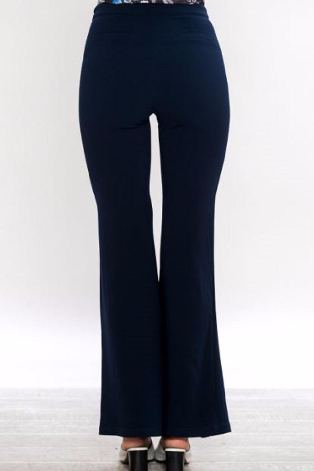 Jealous Tomato Bell Bottom Pants - Side Cropped Image