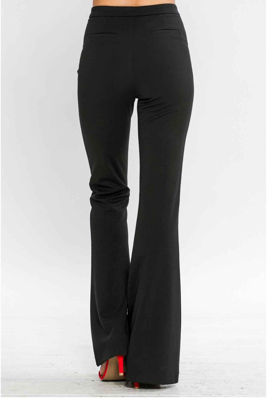 Jealous Tomato Belled Trousers - Side Cropped Image