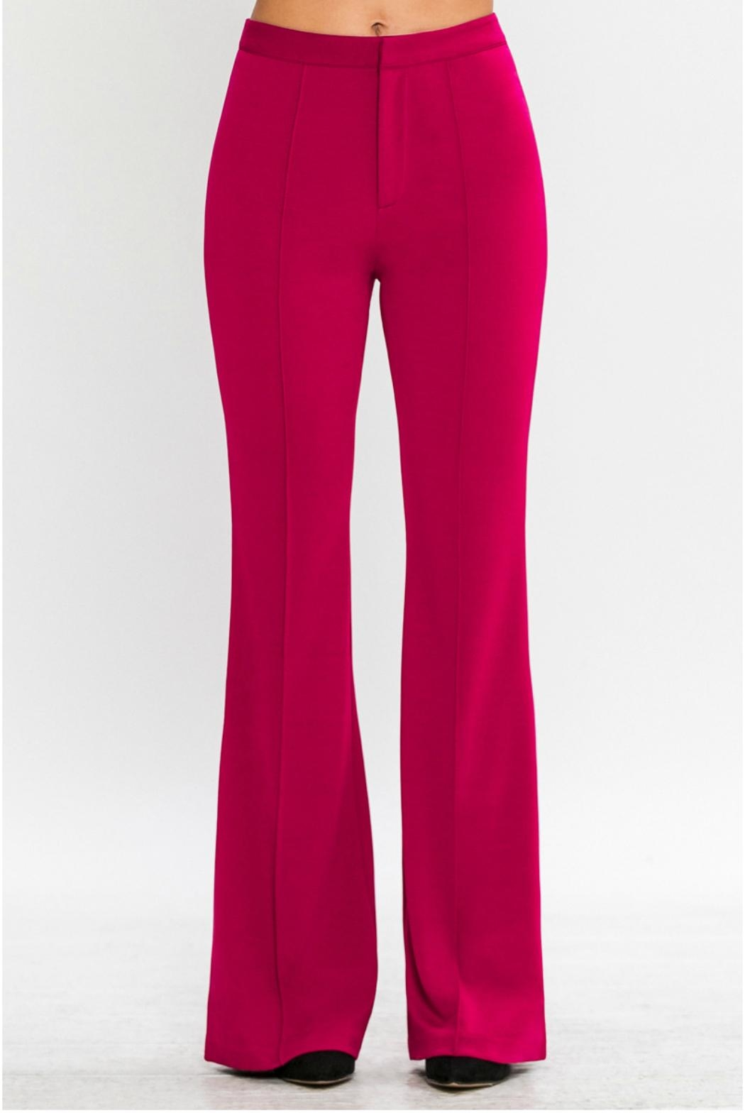 Jealous Tomato Belled Trousers - Front Full Image