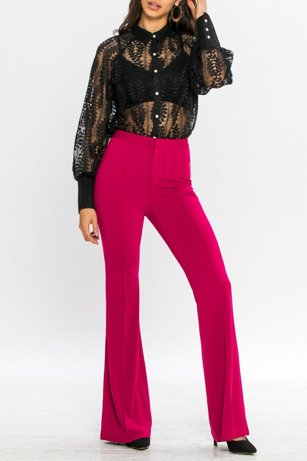 Jealous Tomato Belled Trousers - Main Image