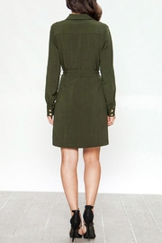Jealous Tomato Belted Military Dress - Side cropped