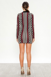 Jealous Tomato Chain Knit Dress - Front full body