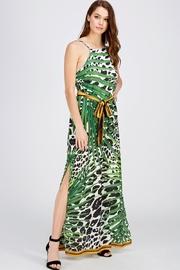 Jealous Tomato Cheetah Maxi Dress - Product Mini Image