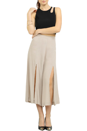 Jealous Tomato Cropped Gaucho Pants - Product Mini Image