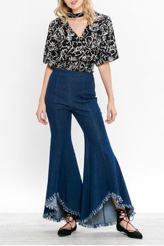 Jealous Tomato Madeline Flared Jeans - Product List Image