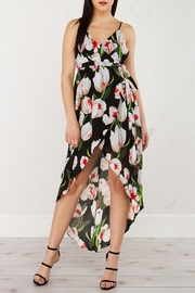 Jealous Tomato Floral Black Dress - Product Mini Image