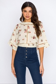 Jealous Tomato Floral Blouse - Product Mini Image