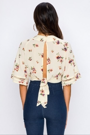 Jealous Tomato Floral Blouse - Front full body