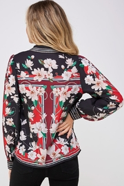 Jealous Tomato Floral Button Down - Back cropped