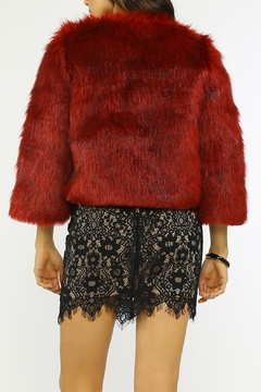 Jealous Tomato Fur Cocktail Jacket - Alternate List Image