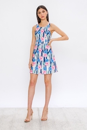 Jealous Tomato Hibiscus Summer Dress - Side cropped