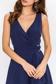 Jealous Tomato Navy Wrap Dress - Other