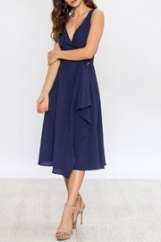 Jealous Tomato Navy Wrap Dress - Side cropped