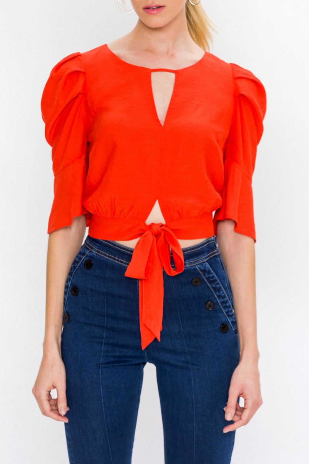Peekaboo Blouse by Gado Gado, New York