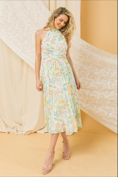 Shoptiques Product: Pleated Floral Dress