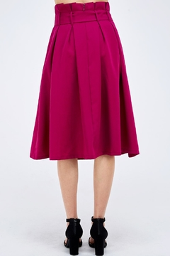 Jealous Tomato Plum Paperbag Skirt - Alternate List Image