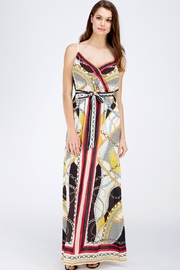 Jealous Tomato Printed Maxi Dress - Front cropped