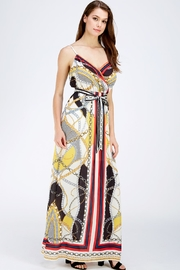 Jealous Tomato Printed Maxi Dress - Side cropped