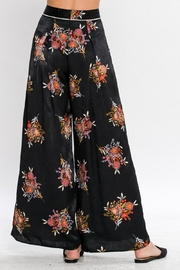 Jealous Tomato Printed Wide Leg Pants - Product Mini Image