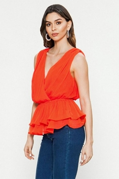 Shoptiques Product: Ruffle Wrap Top