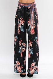 Jealous Tomato Satin Palazzo Pants - Product Mini Image