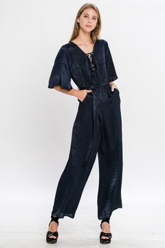 Jealous Tomato Short Sleeve Jumpsuit - Product List Image