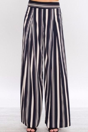 Jealous Tomato Striped Wide Leg Pants - Product Mini Image