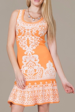 Jealous Tomato Tangerine Dress - Product List Image