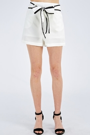 Jealous Tomato Tie Front Shorts - Product Mini Image