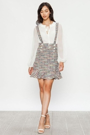Jealous Tomato Tweed Overall Skirt - Front cropped