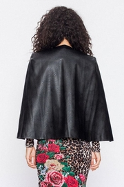 Jealous Tomato Vegan Cape Blazer - Back cropped
