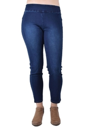 Ethyl Jean Ankle Pull on Jean - Front cropped