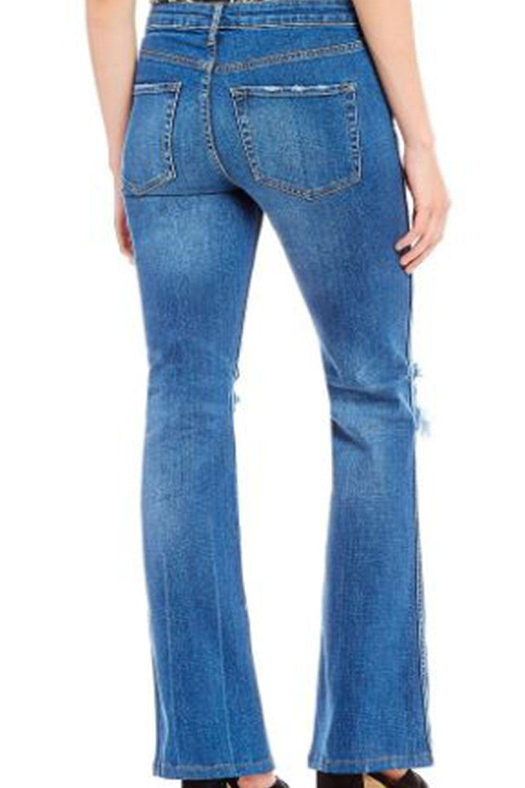 Free People Jean Authentic Flare - Front Full Image