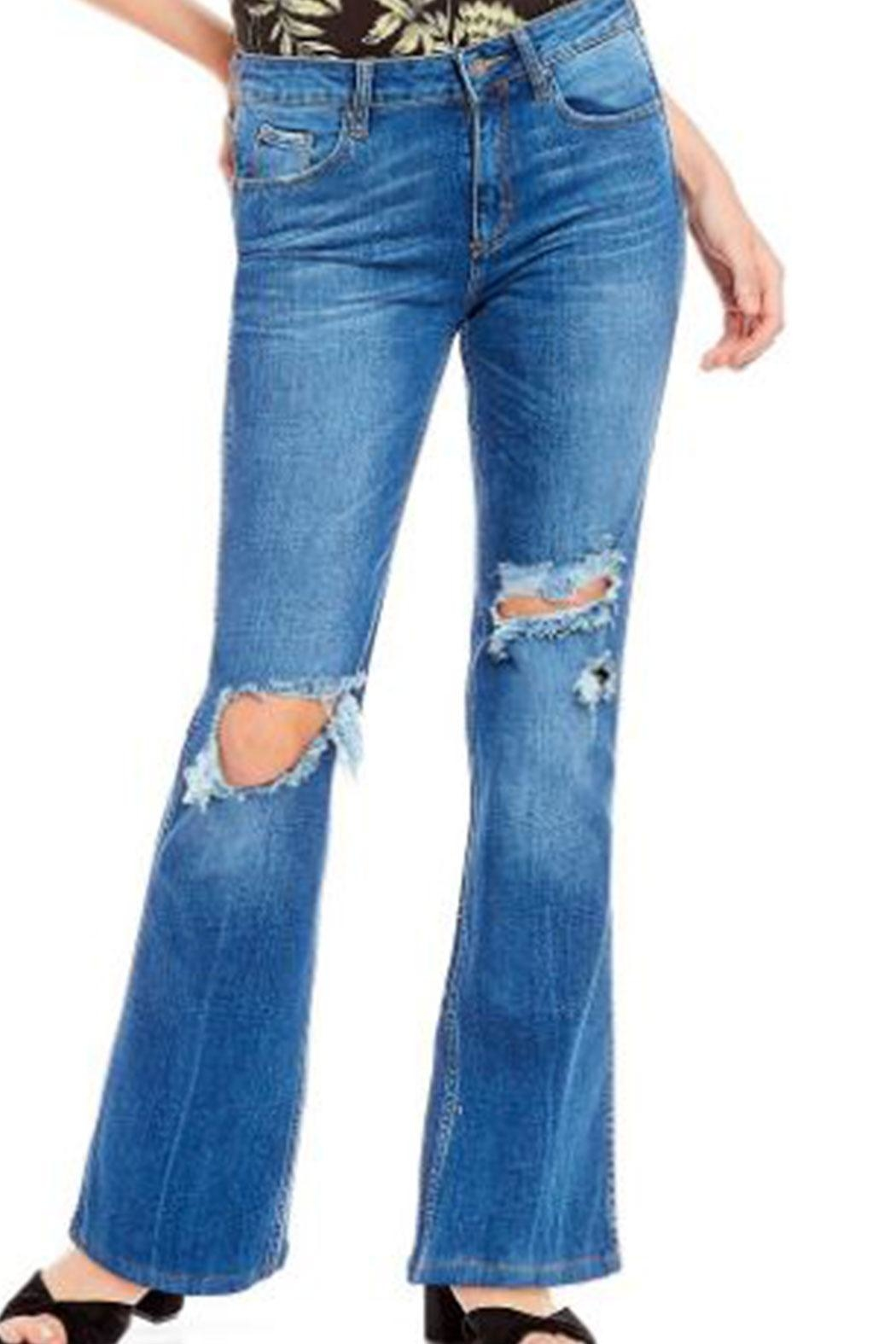 Free People Jean Authentic Flare - Main Image