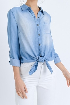 Love Tree Jean Button Up long sleeve - Product List Image